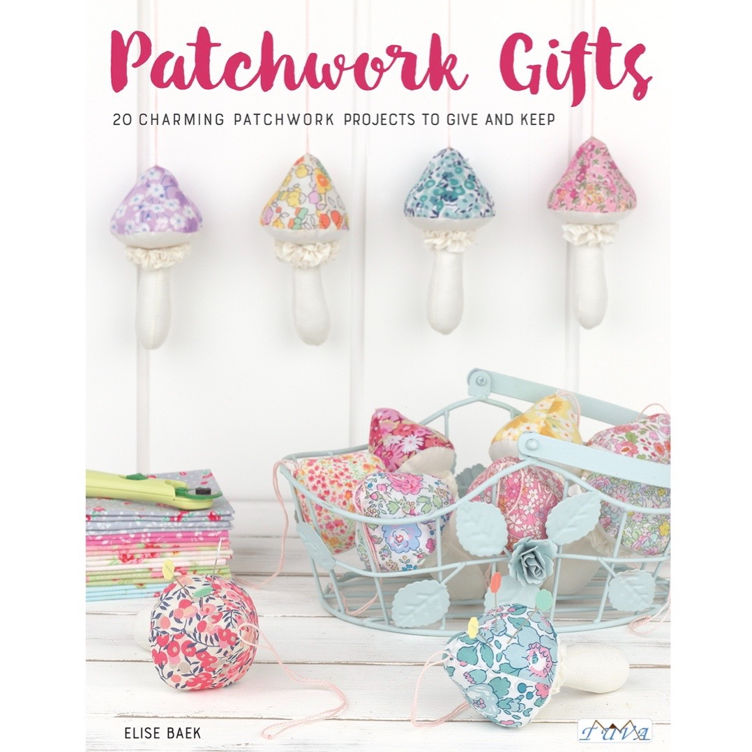 Order my book Patchwork Gifts here!