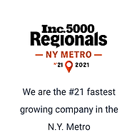 Agile Cloud Consulting Ranks No. 21 on Inc. Magazine's List of the Fastest-Growing Private Companies in the New York City Metro Region