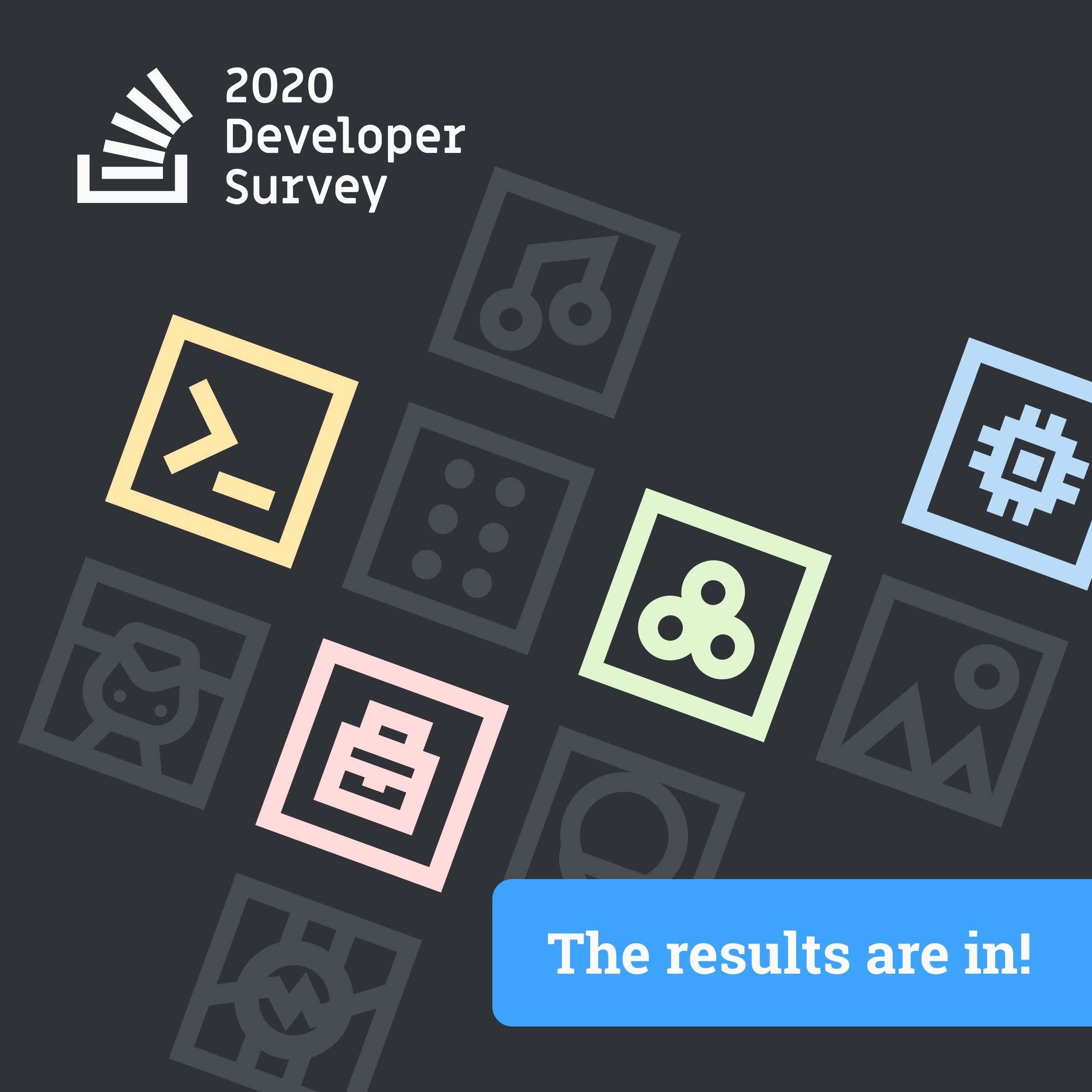 The 2020 Developer Survey results