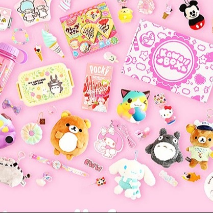 @kawaiisassylady GET A KAWAII BOX (Each box is filled with kawaii items. Straight from Japan to your door with Free shipping!) Link Thumbnail | Linktree