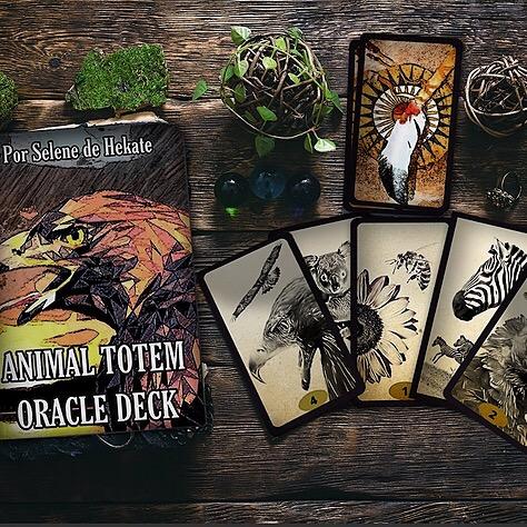 Animal Totem Oracle Deck - Amazon