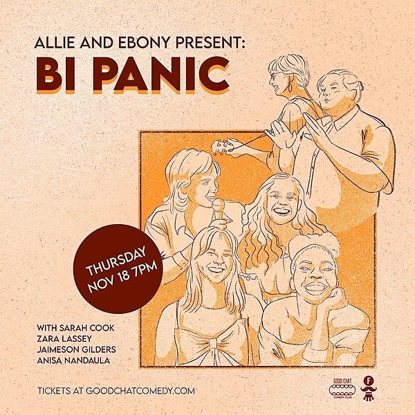 @goodchatcomedy Get tickets to Allie & Ebony Present   Bi Panic! [Nov 18] Link Thumbnail   Linktree
