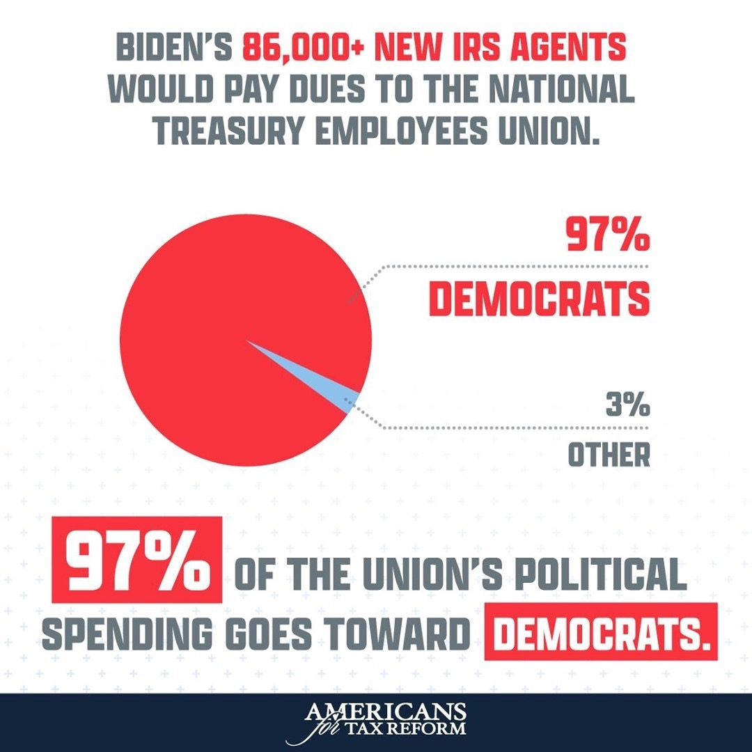 @grovernorquist Biden's 87,000 New IRS Agents Will Generate Cash for Democrat Campaign Coffers Link Thumbnail | Linktree