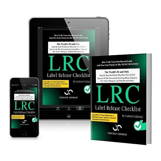 "@gabigalinsky ""Label Release Checklist"" (Interactive Ebook + Physical Workbook) Link Thumbnail | Linktree"