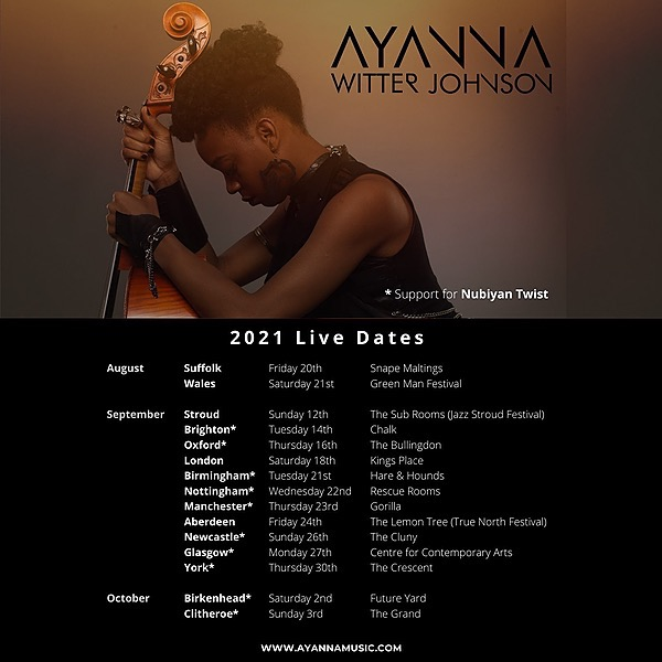 @AyannaWJ Tour Dates Link Thumbnail   Linktree