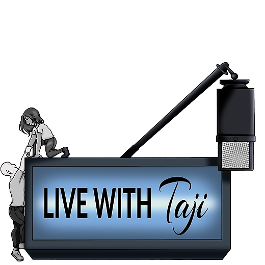 """""""LIVE"""" with Taji Subscribe to the YouTube Channel Link Thumbnail 