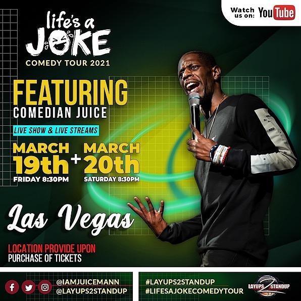 Las Vegas Comedy Show 🎟March 19th 8:30pm