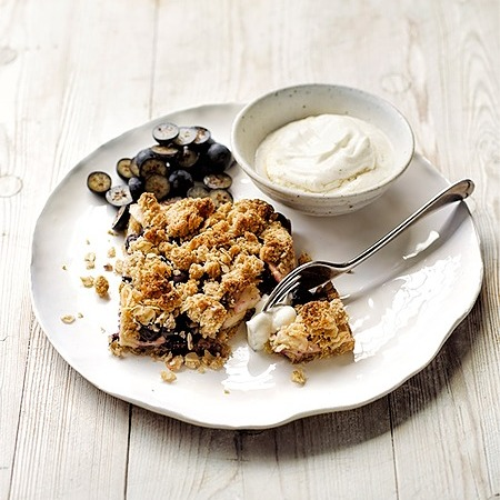 @donnahaymagazine apple and blueberry crumble slice Link Thumbnail   Linktree