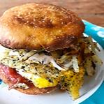 Loaded Egg Sandwich Recipe
