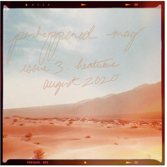 Marcelle Newbold Online poem: Shopping list (Heatwave issue, Perhappened zine) Link Thumbnail | Linktree