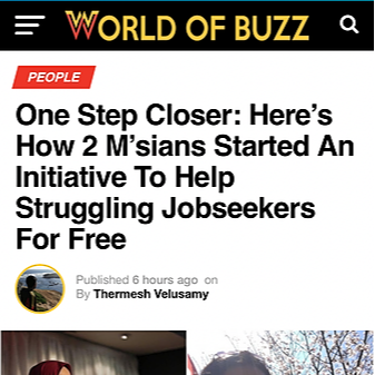 One Step Closer Media Coverage - World of Buzz Link Thumbnail | Linktree