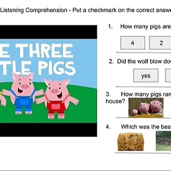 @RebeccaAllgeier 2 minute fairy tales - with comprehension questions Link Thumbnail | Linktree