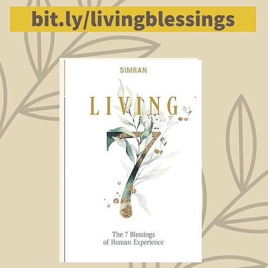 @1111Magazine PREORDER… Simran's New Book! — LIVING 7 BLESSINGS Link Thumbnail | Linktree