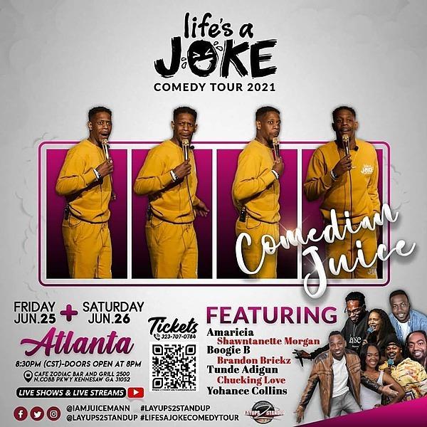 Atlanta  Comedy Show 🎟June 26th 8:30pm