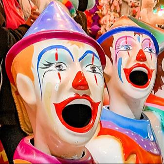 @coreyjohnsen 8 Clowns You're Thinking About Link Thumbnail | Linktree