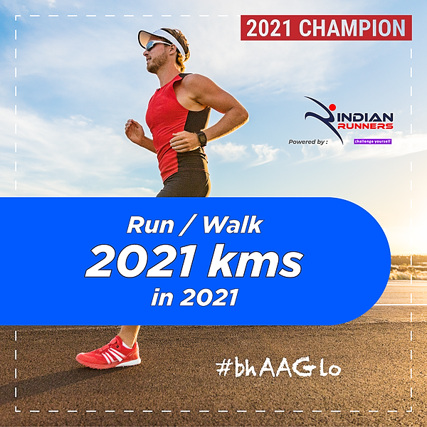 Indian Runners Run 2021 Kms in 2021 Link Thumbnail   Linktree