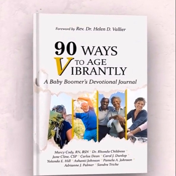 "Save $5 ""90 Ways to Age VIBRANTLY! A Baby Boomers Devotional Journal"""