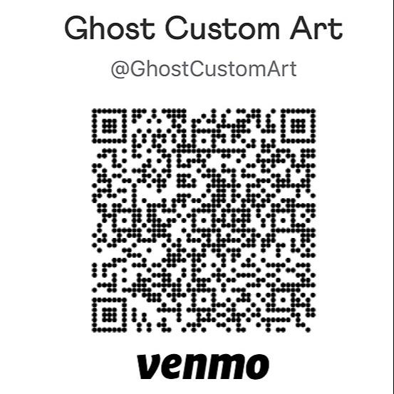 Ghost Custom Art Venmo link  Link Thumbnail | Linktree