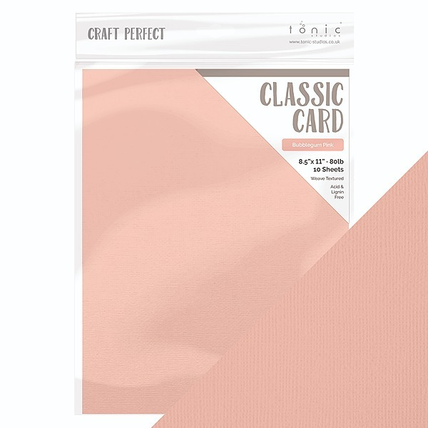 Craft Perfect Classic Card Bubblegum Pink