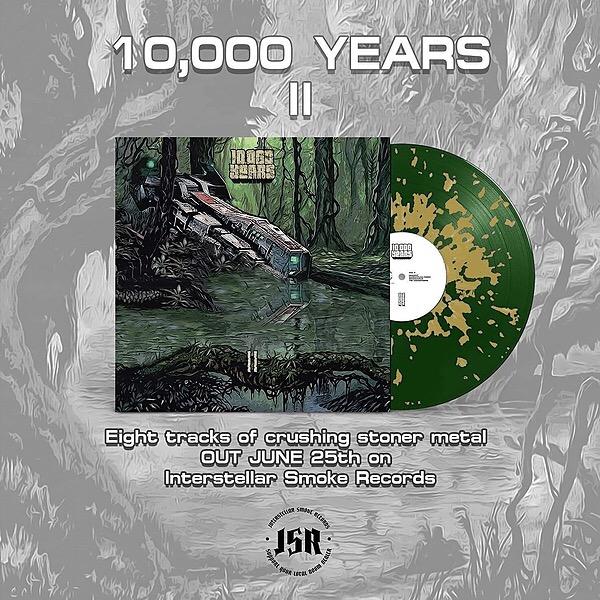 "@10000years ""II"" Green King Edition vinyl Link Thumbnail | Linktree"