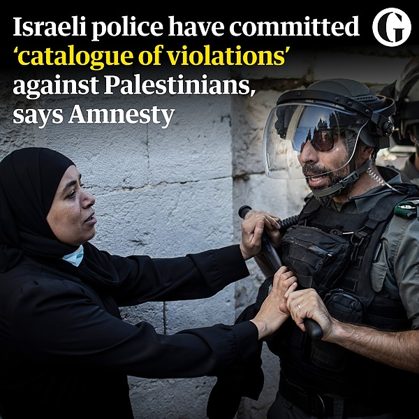 @guardian Amnesty: 'catalogue of violations' by Israeli police against Palestinians Link Thumbnail   Linktree