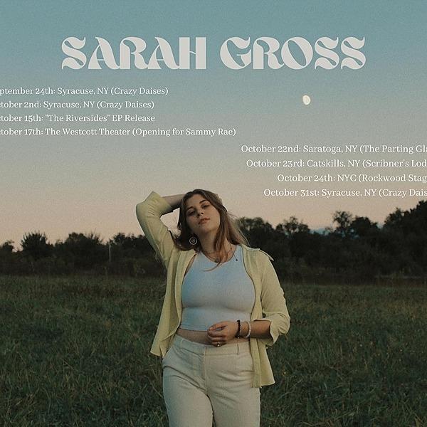 @sarahgrossmusic Upcoming Shows Link Thumbnail | Linktree
