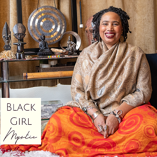 @afrolez Aishah featured on Black Girl Mystic Podcast Link Thumbnail | Linktree