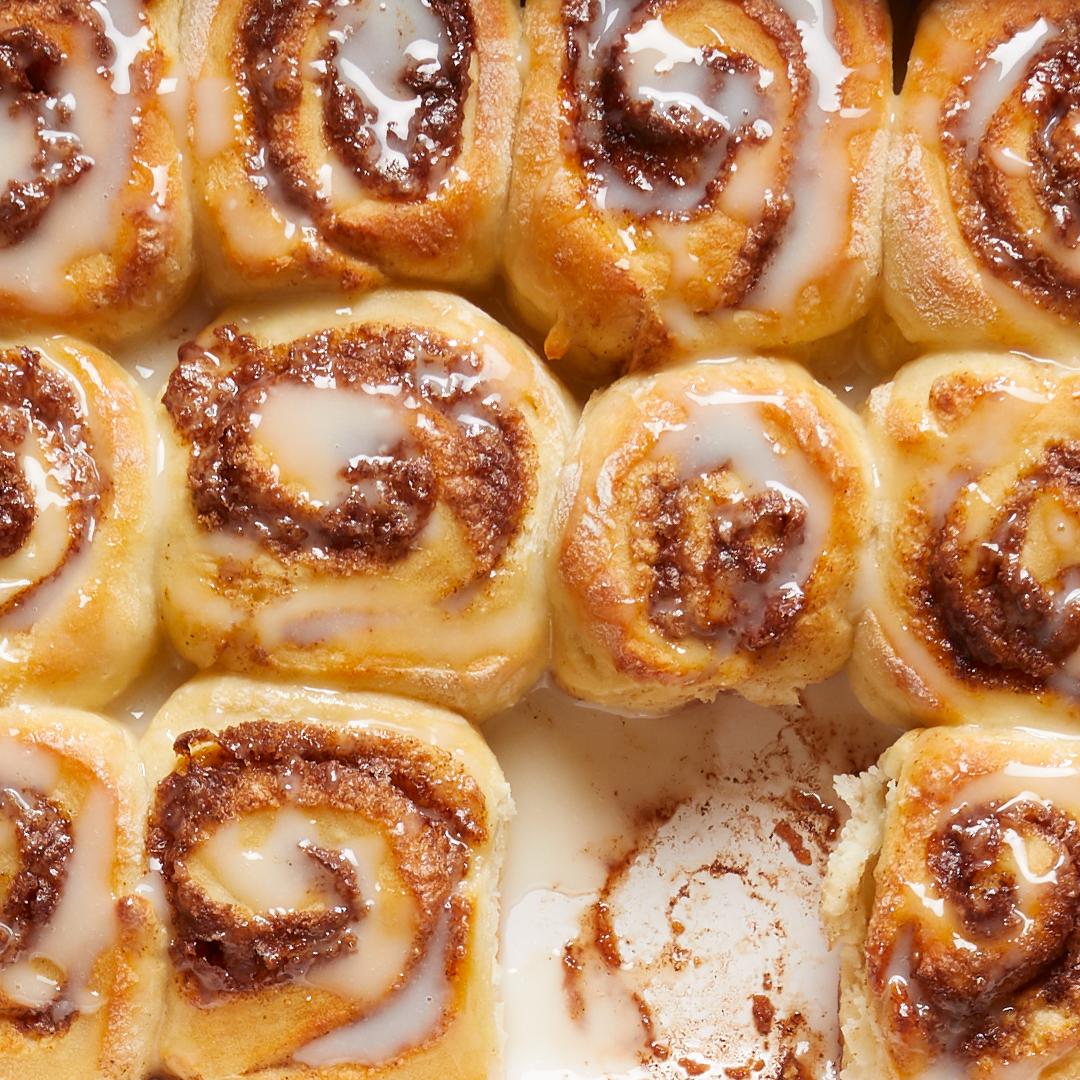 Two-Ingredient Dough Cinnamon Rolls