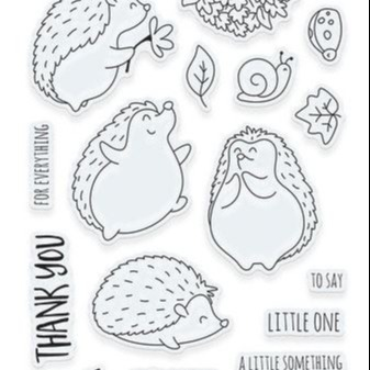Tonic Studios - Adorables - Clear Photopolymer Stamps - Little Something for Harry