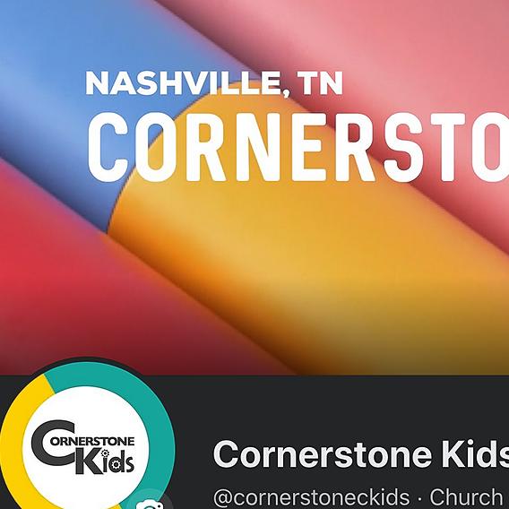 Cornerstone Kids Nashville Facebook Page Link Thumbnail | Linktree