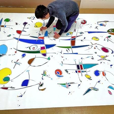 Kaoru Shibuta  PAINTER Work in progress Link Thumbnail | Linktree