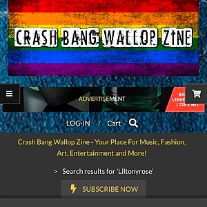 @LILT💍NYR🌺SE Crash Bang Wallop Zine (Press Article) Link Thumbnail | Linktree