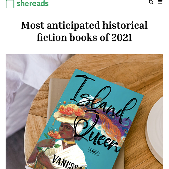 Vanessa Riley SheReads Most Anticipated Historical Fiction Link Thumbnail | Linktree