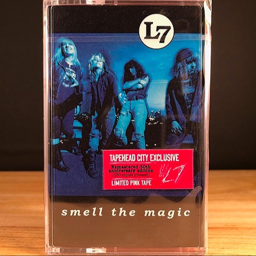 Limited Edition PINK CASSETTE of Smell The Magic