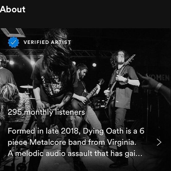 @DyingOath Spotify Link Thumbnail | Linktree
