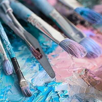 8 Abstract Painting Palettes & How to Make Them