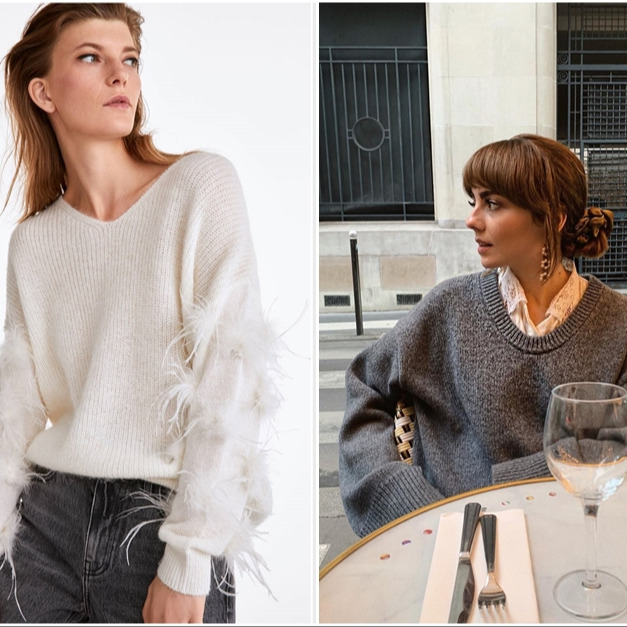 @fashionhr 10 oversized pulovera koje volimo u kombinaciji s trapericama Link Thumbnail | Linktree