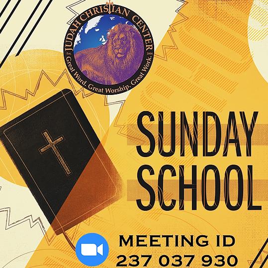 Sunday School ~ Sundays at 9:30am