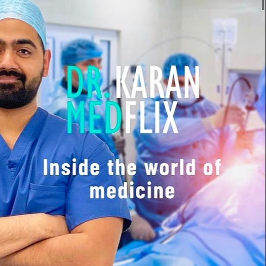 Dr Karan Inside the World of Medicine! Link Thumbnail | Linktree