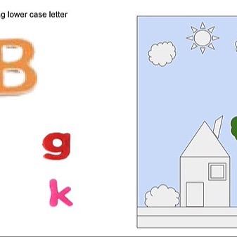 @RebeccaAllgeier Letter Matching Game Link Thumbnail | Linktree
