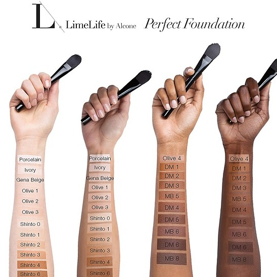 @DanielleRomero Find Your Perfect Foundation Link Thumbnail | Linktree