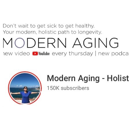 Age Vibrantly Tips Podcast Modern Aging on YouTube  Link Thumbnail | Linktree