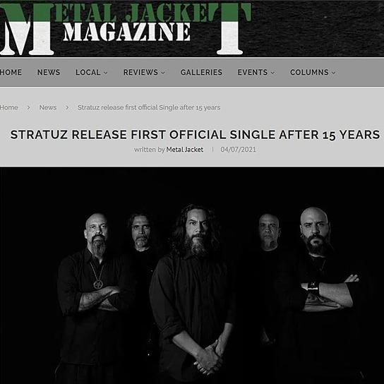 STRATUZ Metal Jacket Magazine Link Thumbnail | Linktree
