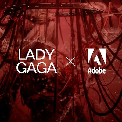 @adobespark Lady Gaga x Adobe Link Thumbnail | Linktree