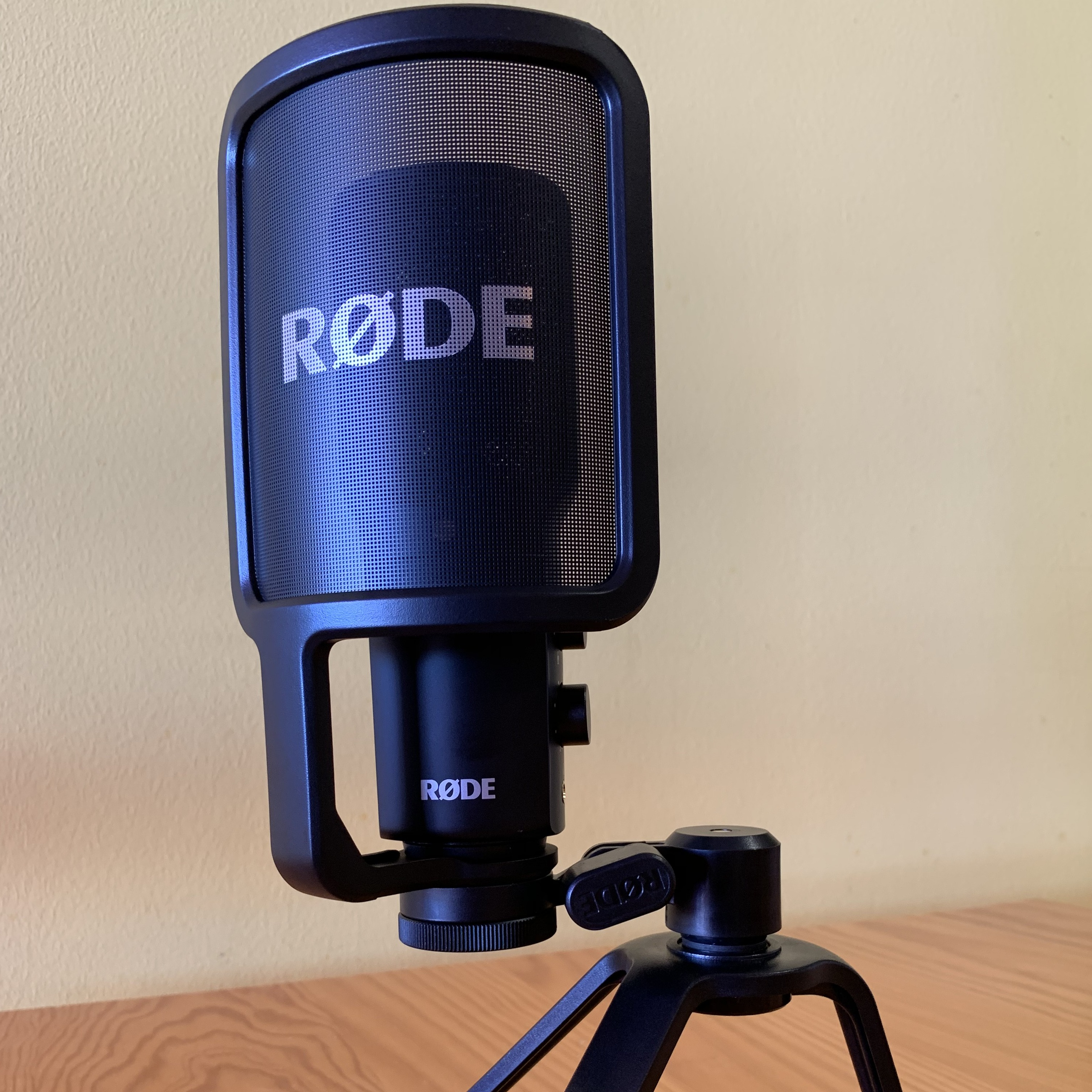 My Rode NT-USB Microphone (affiliate link)