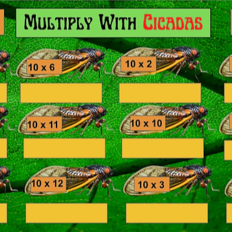Multiply With Cicadas
