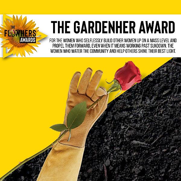 The Gardenher AWARD