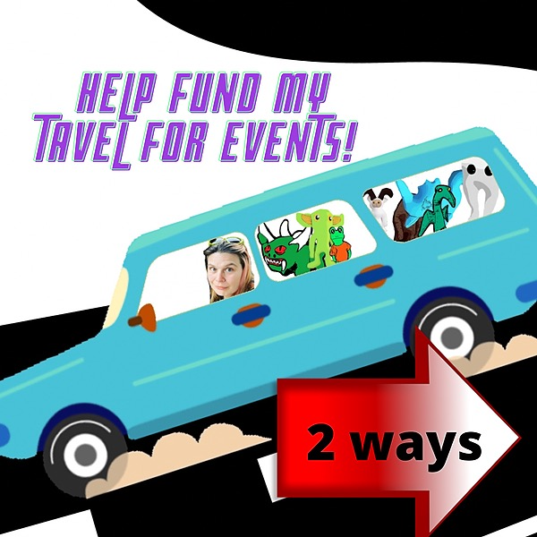Cryptid Comforts Help fund Cryptid Comforts travel expenses  Link Thumbnail | Linktree