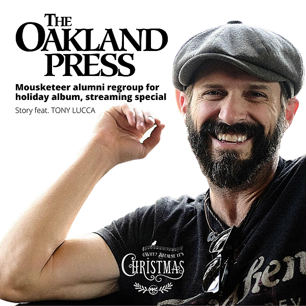 Oakland Press | TONY LUCCA Talks Reuniting with MMC Alum on Holiday Album