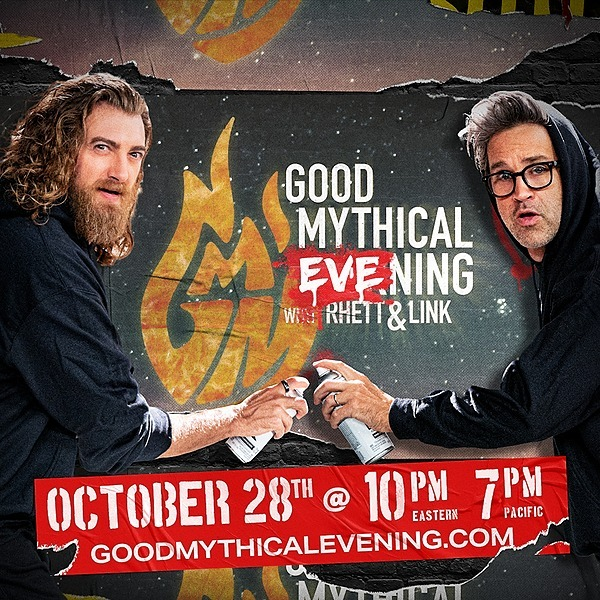 @mythical Are You Ready For GOOD MYTHICAL EVENING?! Link Thumbnail | Linktree